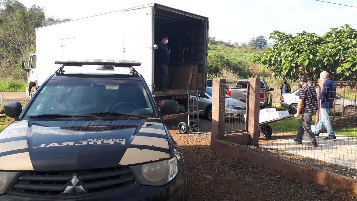 Operação federal é desencadeada em Porto Soberbo, em Tiradentes do Sul