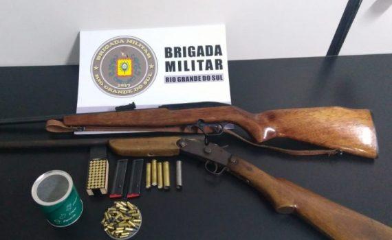 37ºBPM prende homem por porte irregular de Arma de Fogo em Iraí