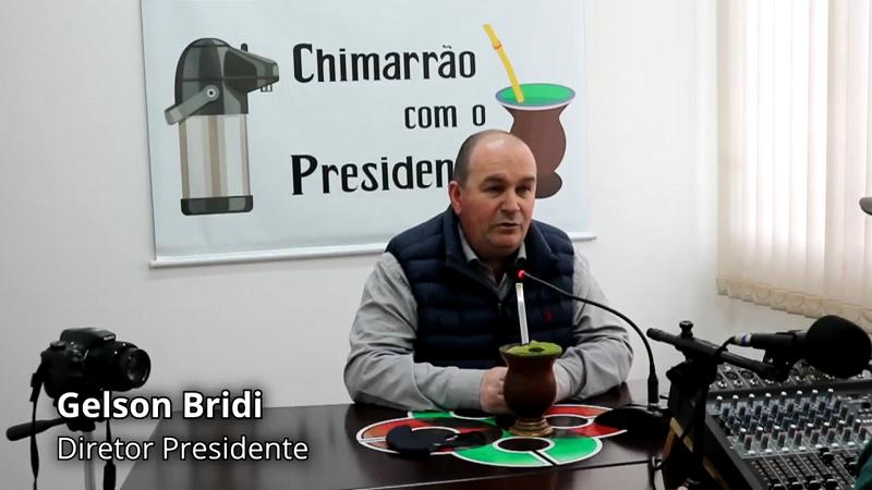 Cotricampo – Programa Chimarrão com o Presidente traz informações sobre a Rede Super Cotricampo