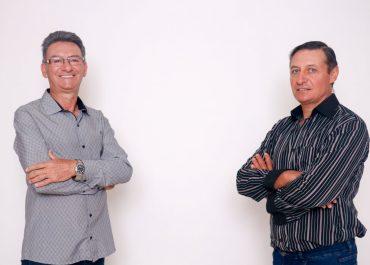 Gilmar e Jacó lançam a pré-candidatura à prefeitura de Braga.
