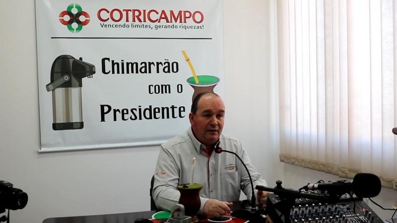 Programa Chimarrão com o Presidente fala sobre o Departamento Técnico da Cooperativa
