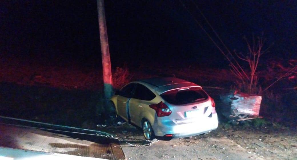 Após acidente, motorista foge em Panambi