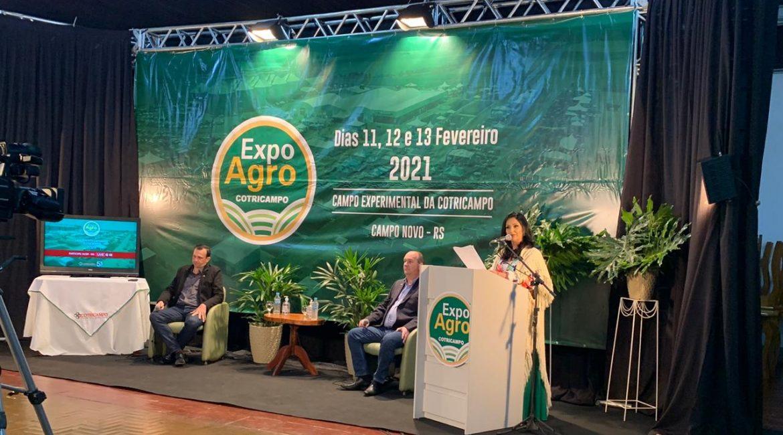 Cotricampo faz lançamento da ExpoAgro 2021 em evento online