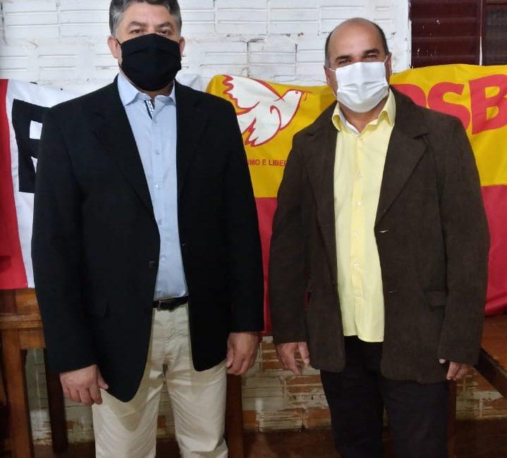 Coronel Bicaco: Convenção do PSB confirma Jurandir da Silva (Jora) como candidato a prefeito