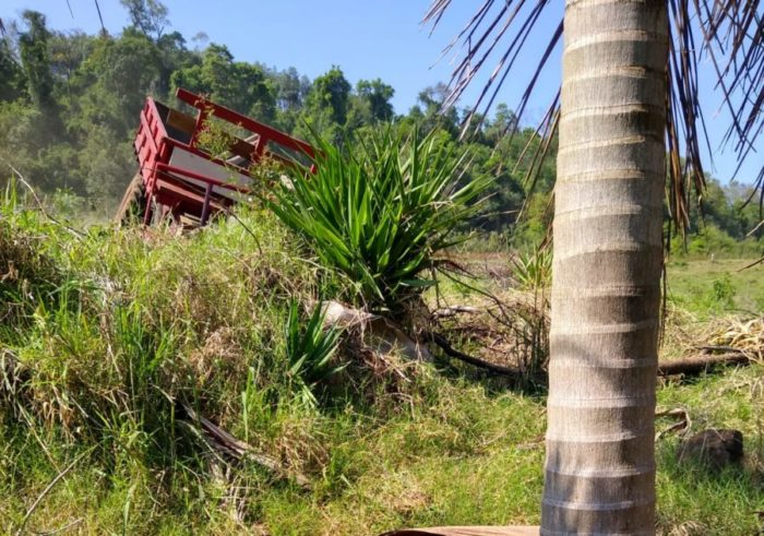 Agricultor morre após acidente trágico em Itapiranga